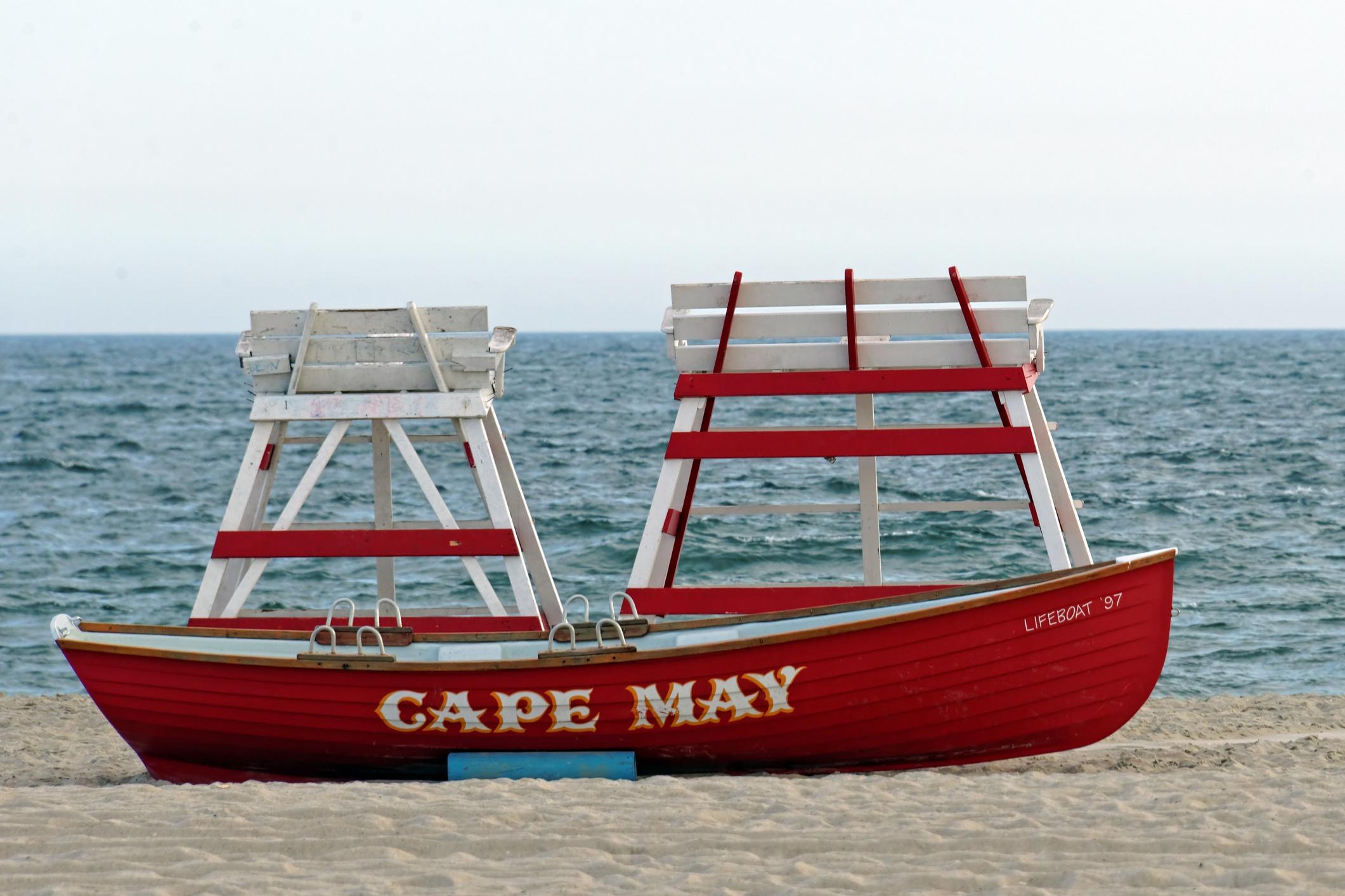 image of cape may summer vacation