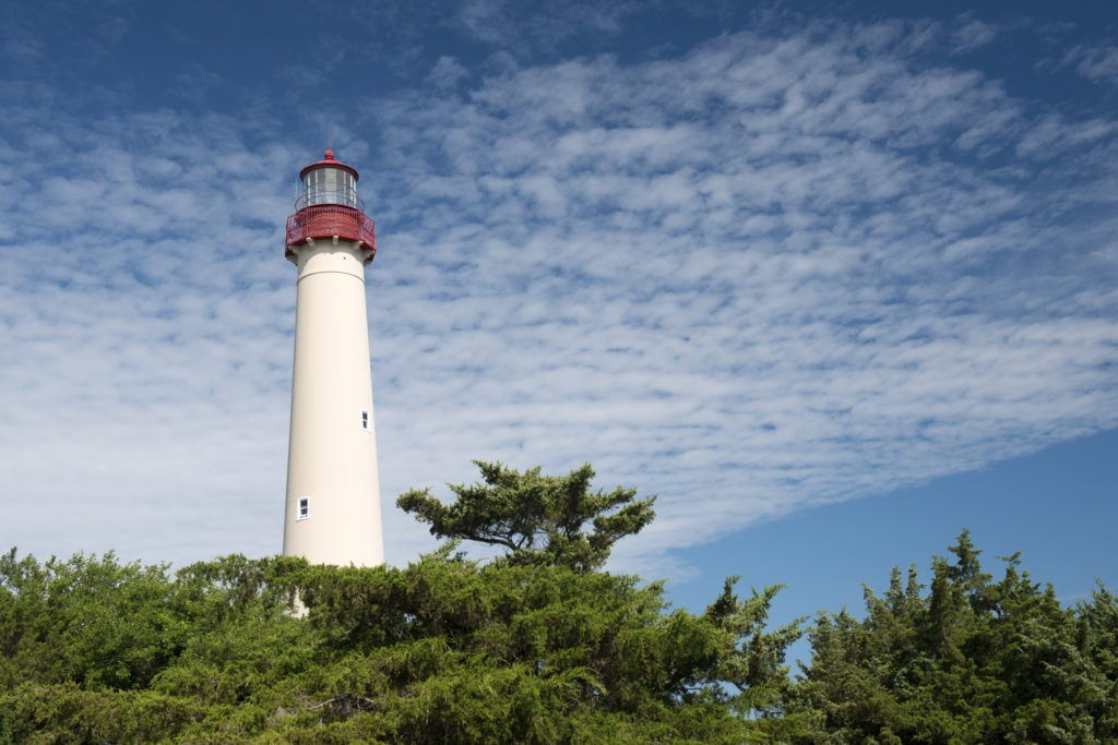 image of cape may lighthouse