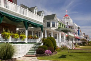 image of weekend in cape may, Victorian houses